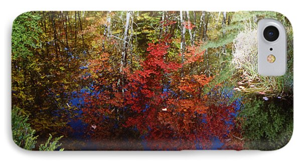 IPhone Case featuring the photograph Reflections On Algonquin by David Porteus