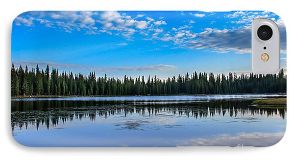 Reflections On Anthony Lake IPhone Case by Robert Bales
