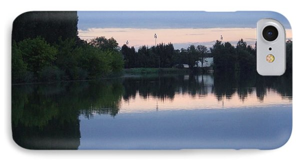 Reflections On La Saone IPhone Case