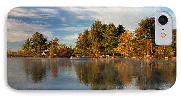 Reflections On Long Lake IPhone Case