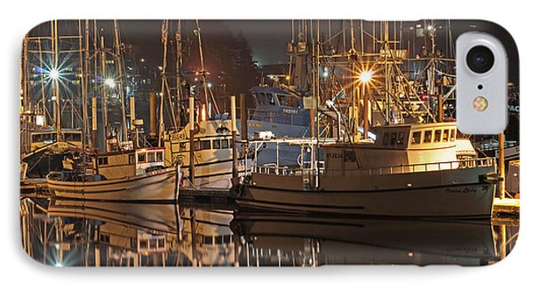 Reflections On The Bay Phone Case by Kim Mobley