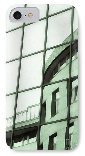 Reflections On The Building Phone Case by Odon Czintos