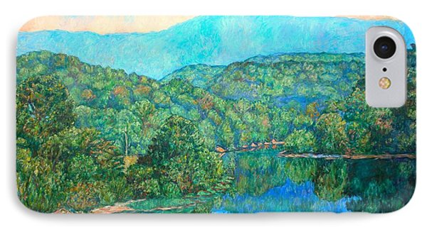 Reflections On The James River Phone Case by Kendall Kessler