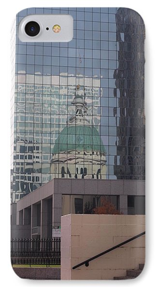 Reflections On The Past IPhone Case by Joshua House
