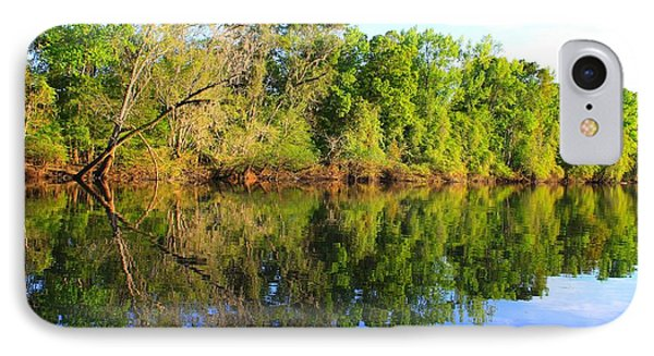 Reflections On The River Phone Case by Debra Forand