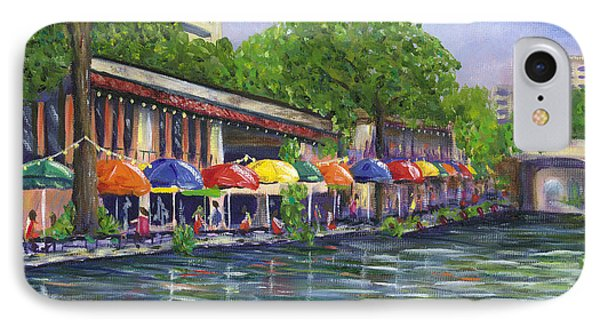 Reflections On The Riverwalk IPhone Case by Kerri Meehan