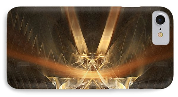 IPhone Case featuring the digital art Reflections by R Thomas Brass