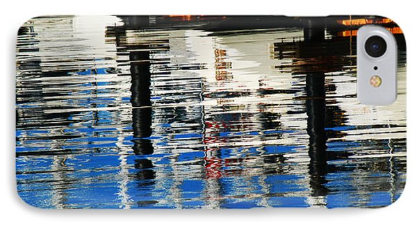 Reflections Sausalito California IPhone Case by DeAnna Denise Adams