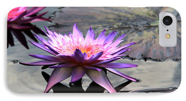 Dark Water Reflections IPhone Case by Yvonne Wright