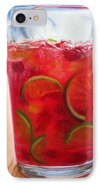 IPhone Case featuring the painting Refreshing by LaVonne Hand