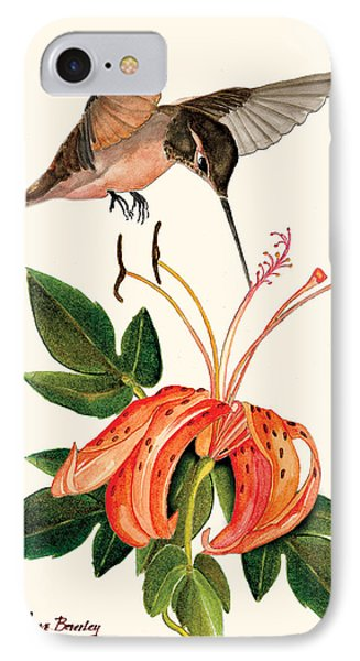 IPhone Case featuring the painting Refueling In Flight by Anne Beverley-Stamps