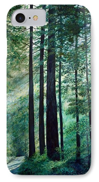 IPhone Case featuring the painting Refuge by Kathleen McDermott
