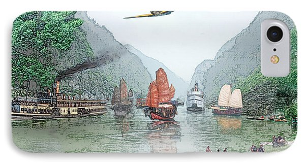 Refugees On The Yangtze IPhone Case