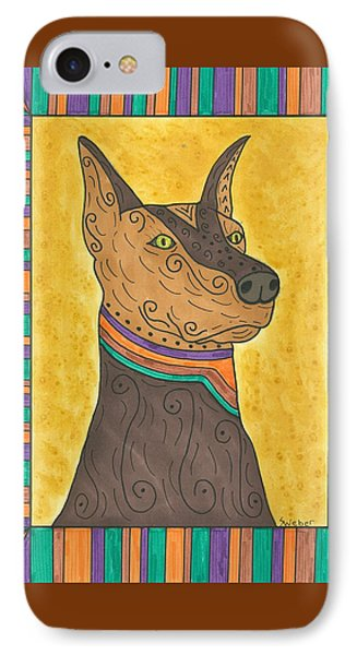 Regal Doberman IPhone Case