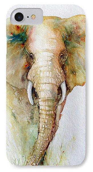 Regal Gold Elephant IPhone Case