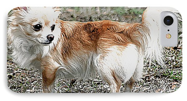 Regal Pose Chihuahua IPhone Case