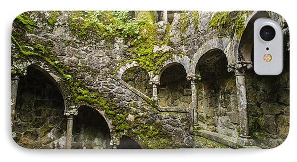 Regaleira Initiation Well 4 IPhone Case by Deborah Smolinske
