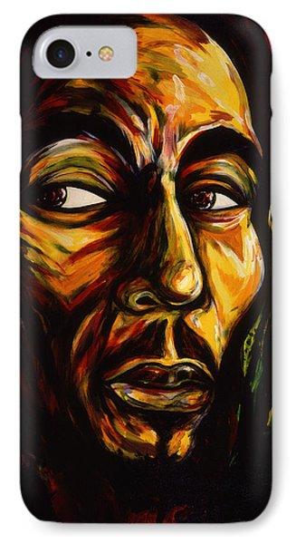 Bob Marley Reggae King IPhone Case by Cardell Walker