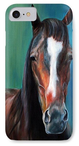 IPhone Case featuring the painting Reggie by Jennifer Godshalk
