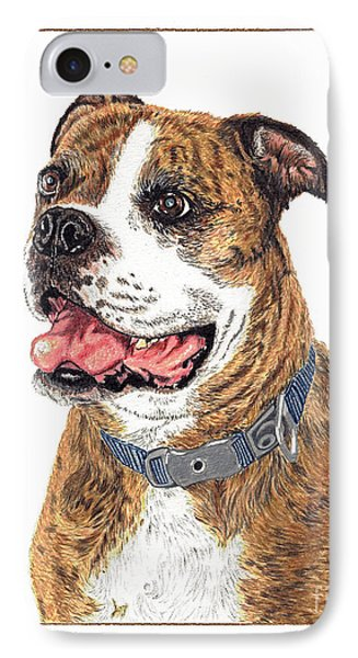 IPhone Case featuring the painting Reggie by Val Miller