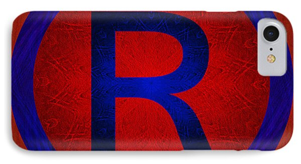 Registered Trademark Symbol IPhone Case by Gregory Scott