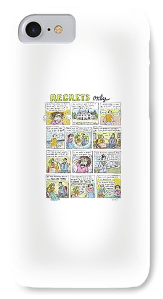 Regrets Only IPhone Case by Roz Chast