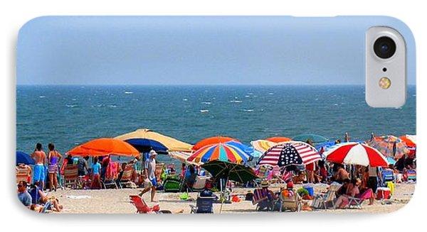 Rehobath Beach Delaware IPhone Case by Patti Whitten