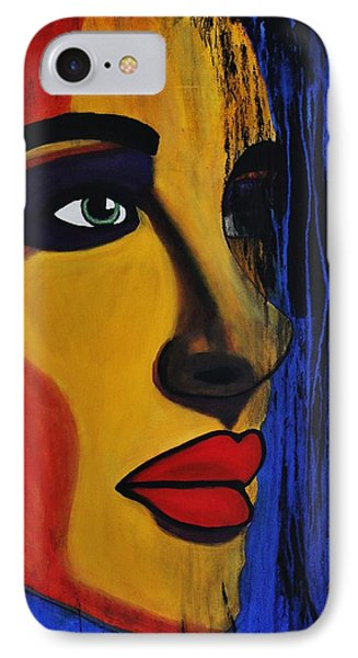 IPhone Case featuring the painting Reign Over Me 2 by Michael Cross