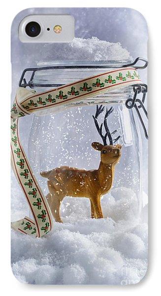 Reindeer Figure IPhone Case