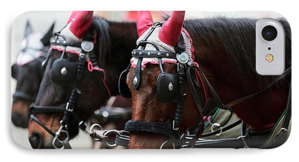 Reindeer Horses IPhone Case