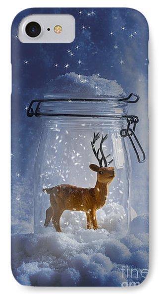 Reindeer Snowglobe IPhone Case
