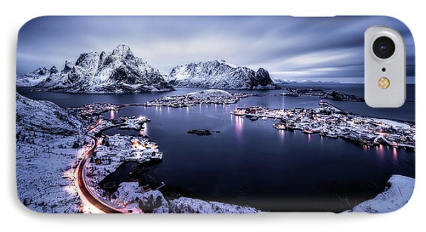 Reine Blue Hour IPhone Case