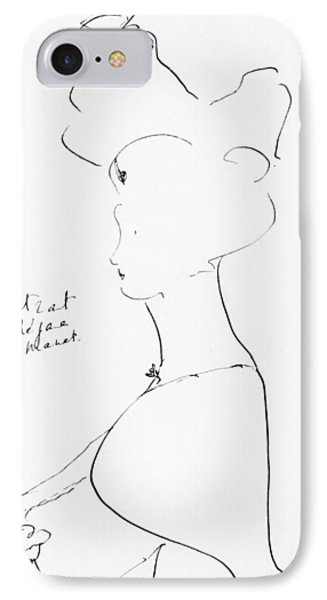 Rejane Phone Case by Marcel Proust