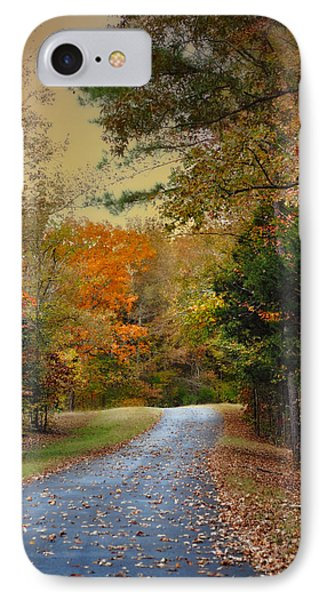 Rekindled Spirit - Autumn Landscape Scene IPhone Case