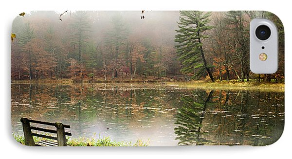Relaxing Autumn Beauty Landscape Phone Case by Christina Rollo