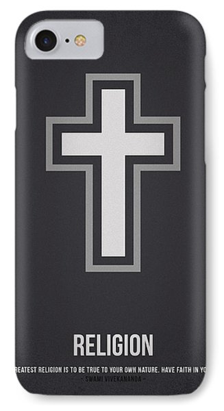 Religion IPhone Case by Aged Pixel