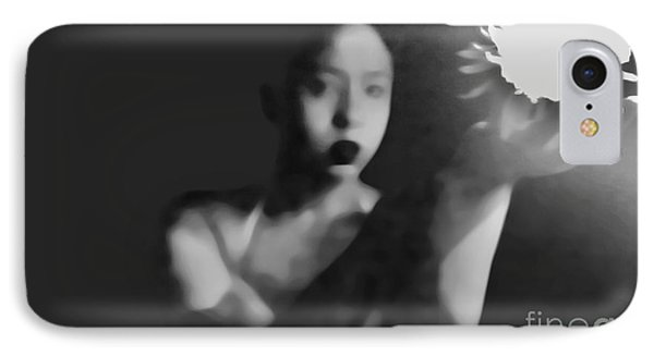 Reluctent To Hold Beauties Glow Phone Case by Jessica Shelton