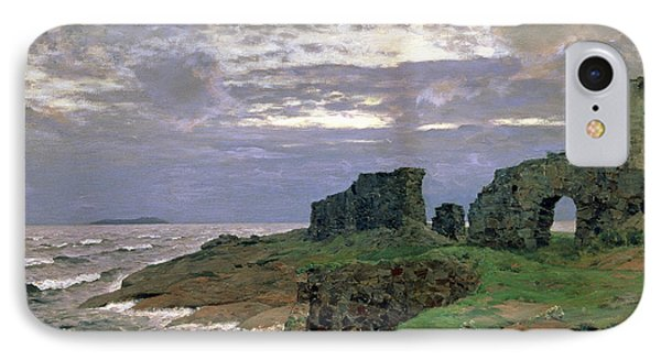 Remains Of Bygone Days Phone Case by Isaak Ilyich Levitan