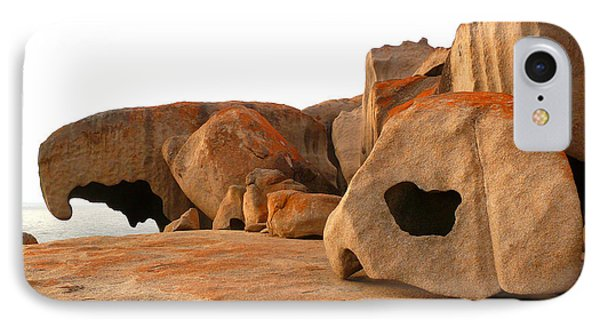 IPhone Case featuring the photograph Remarkable Rocks by Evelyn Tambour