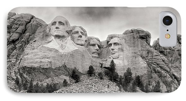 Remarkable Rushmore IPhone Case by Erika Weber