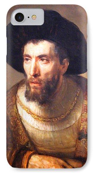 Rembrandt's The Philosopher IPhone Case
