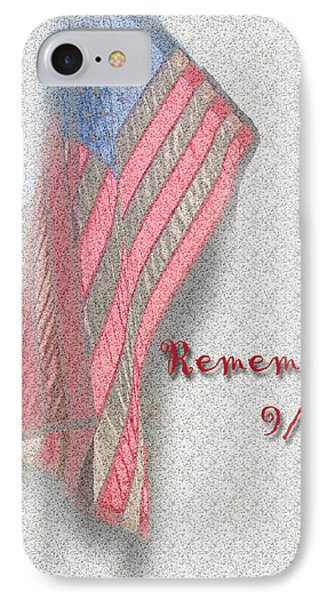 IPhone Case featuring the photograph Remember 9-11 by Larry Bishop