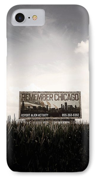 Remember Chicago  Phone Case by Trish Mistric