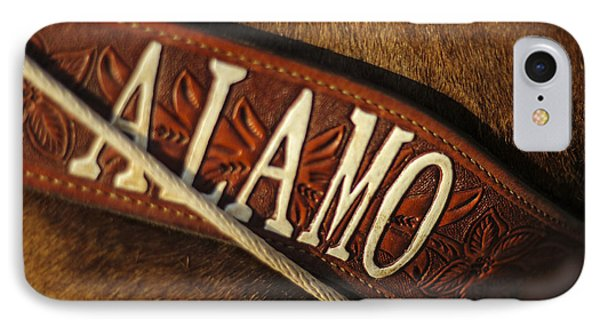 Remember The Alamo IPhone Case by Amber Kresge