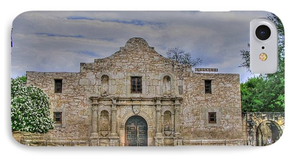 Remember The Alamo IPhone Case by Barry Jones
