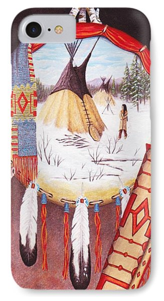 Remember The Past Phone Case by Billie Bowles