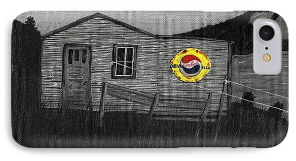Remember When Old Pepsi Sign 2 Phone Case by Barbara Griffin