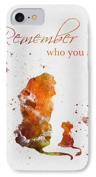Remember Who You Are IPhone Case