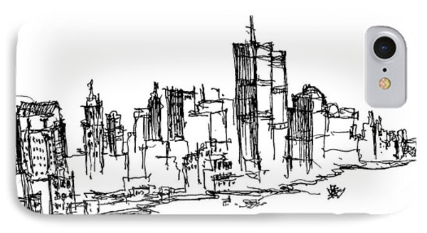 Remember World Trade Center IPhone Case by Jason Nicholas