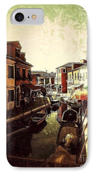 Remembering Burano IPhone Case by Delona Seserman